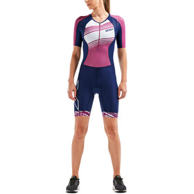 2XU Compression Women pink/blue